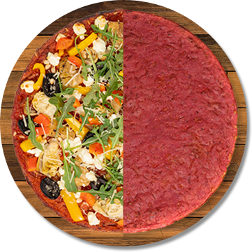 Plant-Based Beet Root Crust