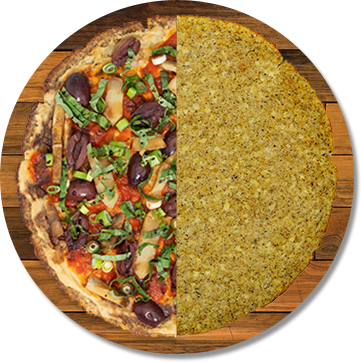 Plant-Based Cauliflower Vegan Crust