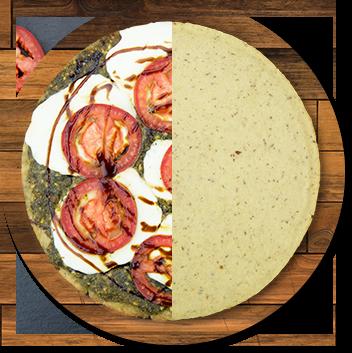 Vegan Ancient Grain Pizza Crust