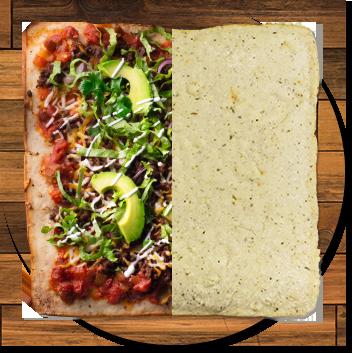 Gluten-free vegan flatbread