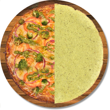 Plant-Based Broccoli Cheddar Crust